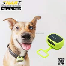 Waterproof IP65 Mini GPS Tracker with Collar Rastreador for Pets Dogs Tracking Localizador Chip Geofence
