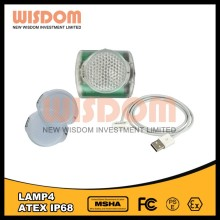 Wisdom lamp 4 light weight 125g 2 years warranty headlamp night fishing with power bank function