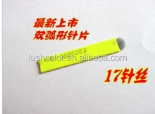 High quality #17 U shape micro blading for permanent makeup manual pen