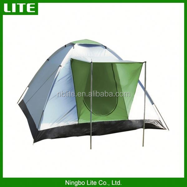 New design 4 person pop up family camping tent with low price
