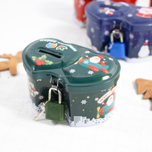 Christmas design novelty cool promotional coin bank for teenager