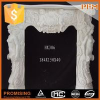 Russian villa interior design marble used fireplace electric