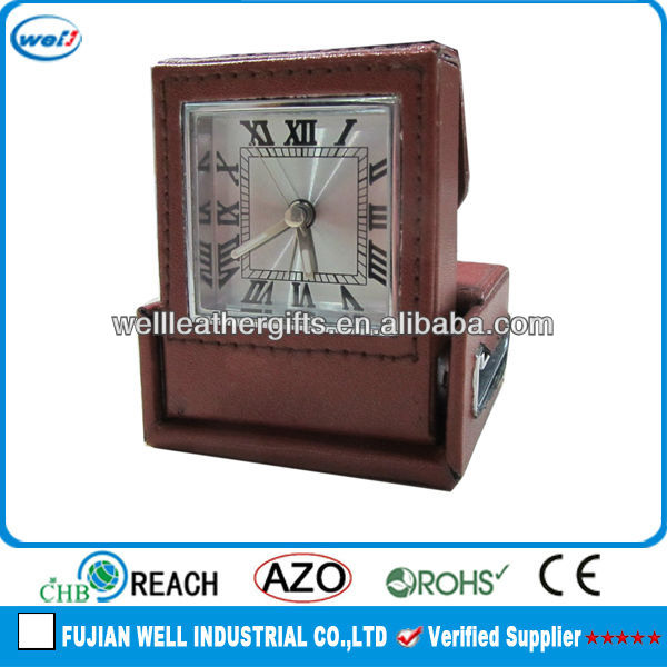 Stand up antique desk clock