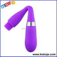 Multispeed Flexible Silicone rotating electric vibrating dildo