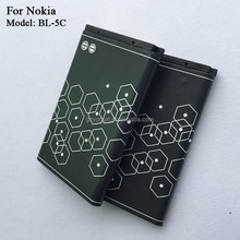china manufacturer 3.7V battery BL-5C for Nokia mobile phone battery 1020mAh