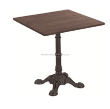 industrial restaurant dining table sets metal frame table industrial