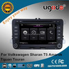 chinese supplier car audio video wifi mirror link for vw tiguan dvd player gps