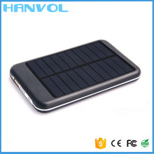Built-in battery 6000mah portable solar mobile phone charger/solar cell phone charger/solar power bank