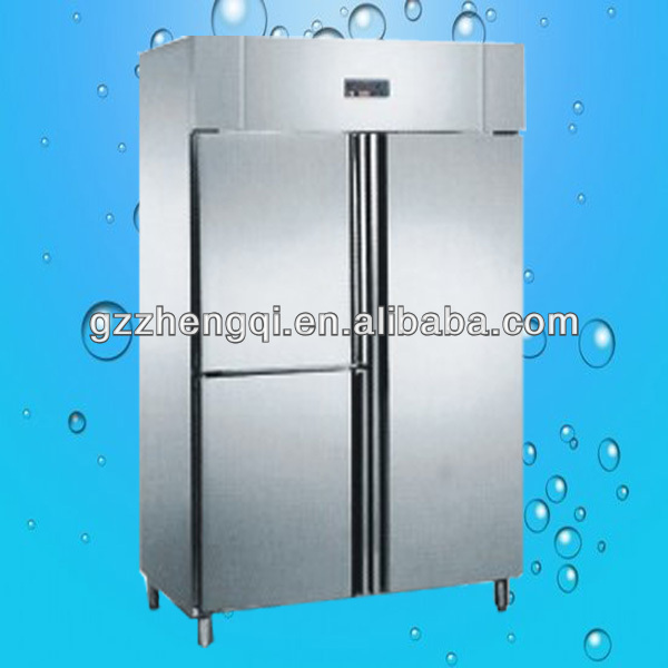 Three door Stainless steel commercial refrigerator(ZQ-1.2L3)