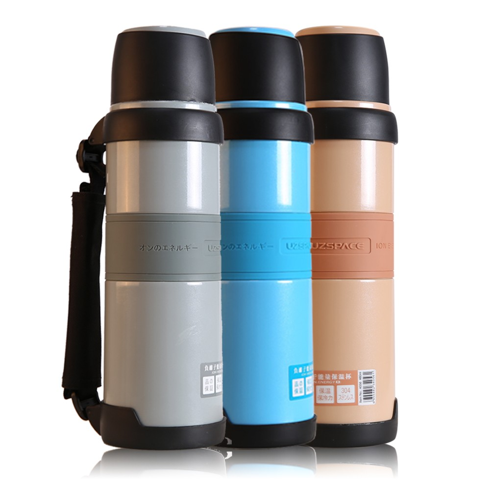 outdoor water bottle vacuum Austenite Stainless Steel double wall bottle