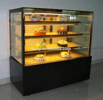 Bakery Cake Refrigerator Showcase