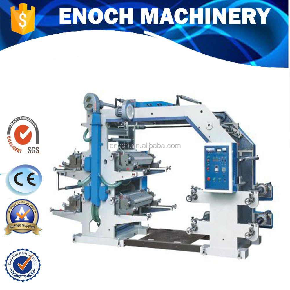 EN-41000 Four color 1000mm flexographic printing press