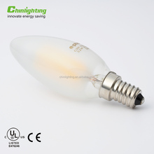 Decorative 120V 240V b22 e27 e26 e14 e12 led filament bulb C35 Candle led light