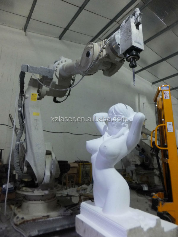 Industrial Robot for Carry 5 axis cnc router kit