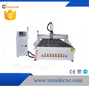 China Manufacture 3D CNC Router Wood Engraving Machine Cutter for Wood Acrylic with Vacuum Working Table