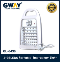 High brightness handle camping 40 pieces rechargeable led emergency light lanterns