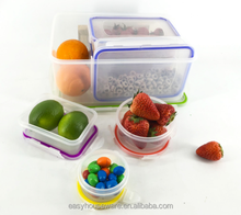 Lunch Rectangle And Square Silver Ion Plastic Storage container