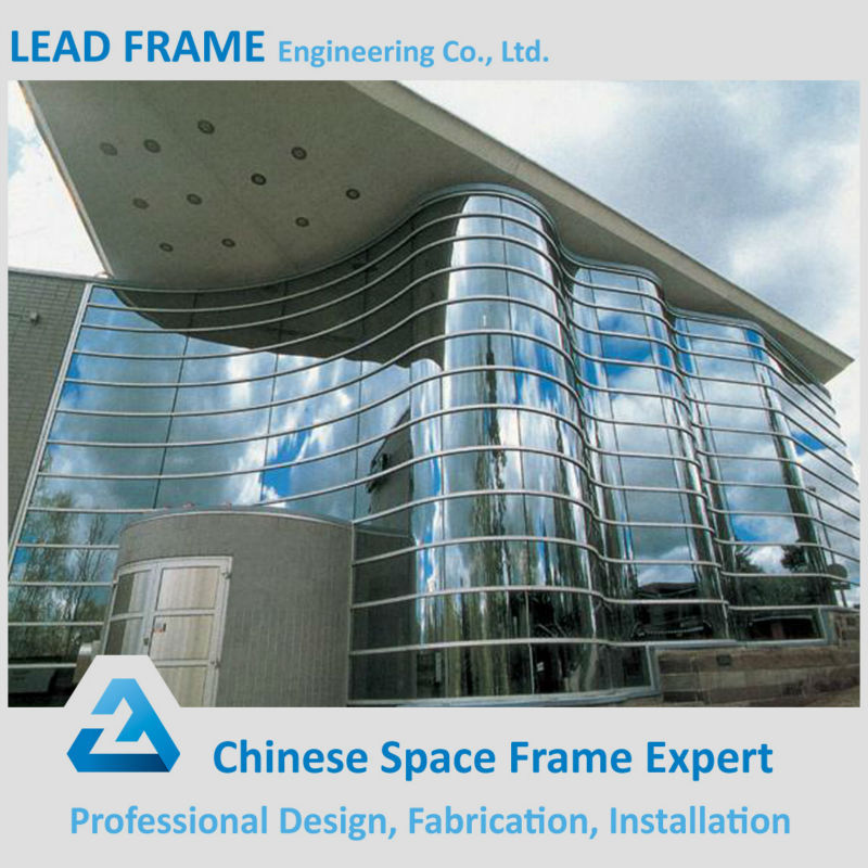 Light steel space frame prefabricated office building
