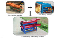 Corn stripping machine | corn maize dehulling machine popular in farm