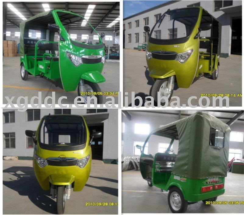 electric three wheel vehicle for passengers
