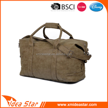 Wholesale cheap standard size hand/shoulder fashion pu vintage travel bag