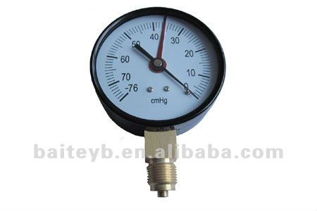 "Factory direct supply high accuracy bourdon tube 2.5"""" pressure gauge"