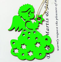 Showy Green Angel For Chrismas Ornaments