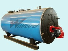 90% thermal efficiency imported burner automatic hot water boilers