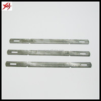 Formwork concrete wall metal forms x flat tie,wall tie made in China