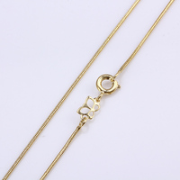 xuping fashion women gold jewelry 14k gold color necklace chain(41674)