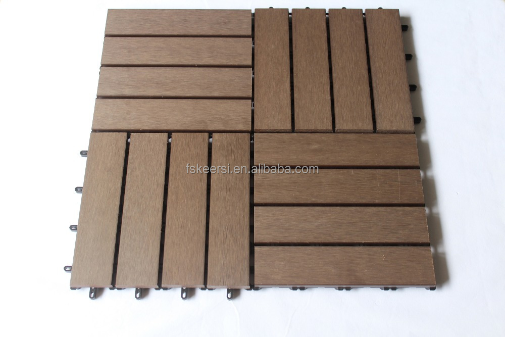 New Style Feeling Wood/Wood Plastic Composite Decking Board