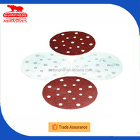 HD385.2 aluminum oxide 6 inch sanding disc adhesive