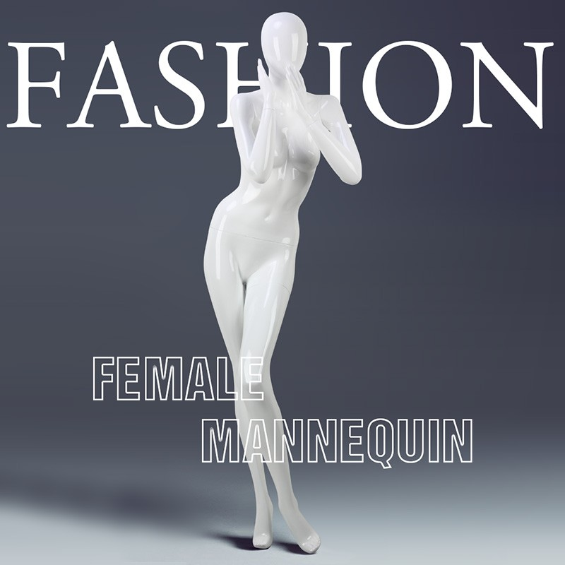The fashion standing full body female mannequin