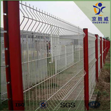 Security pvc coated garden railings fencing