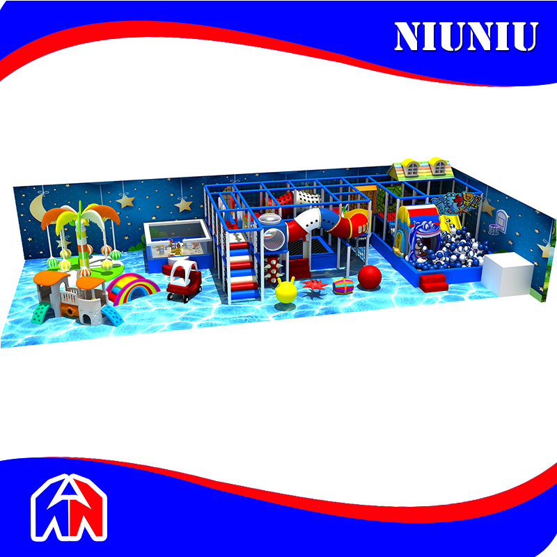 Customized Design Amusement Park Used Indoor Playground Equipment For Sale