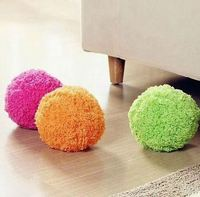 Hot sell product new design product creative product cute ball shaped Robotic Mop Cleaner Automatic rolling ball Microfiber hop