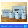 Colorful painting Stainless steel bread bin/ bread box / canister set