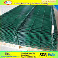 Galvanized 50mm*100mm iron fence, cheap sheet metal fence panels
