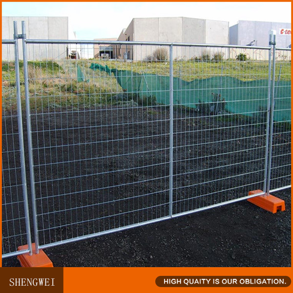 High quality galvanized welded wire mesh temporary security fence panels