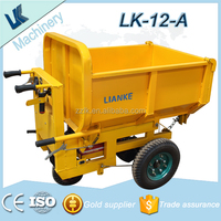 electric mini dumper/mini muck truck used in garden/small trolleys used in construction site
