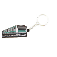 Hot Sale on Amazon Fun Custom Soft Silicone Bus Keychains For Kids For Promotion