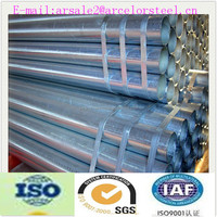 china supplier astm a53 4 inch schedule 40 galvanized steel pipe