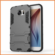Factory combo robot armor case for samsung galaxy S7 Edge