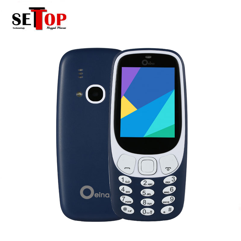 New XP3310 with flashlight cell phones 4 sim cards slot elder people mobile 1000mAH