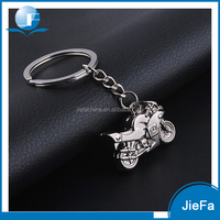 High quality promotional gift custom printed logo 3D motorcycle keychain