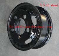 5.5-16 tube steel wheel