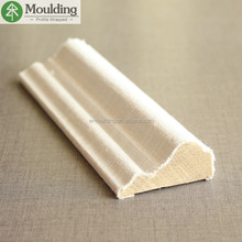 Cloth Wrapped sofa wooden frame moulding