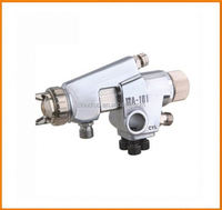 Automatic Spray Gun feed type nozzle size 1.2mm-2.5mm HVLP spray semi-automatic chrome painting distributor required for india