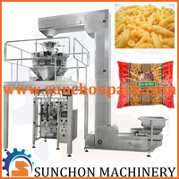 Automatic Pasta Packing Machine With 10 Heads Weigher