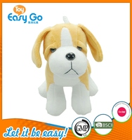 Customized sad brown dog plush toys